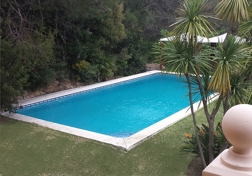Pool and garden maintenance, house in Nueva Andalucia area, Marbella
