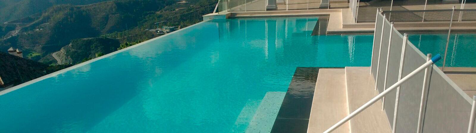 Pool and garden maintenance, house in La Zagaleta area, Marbella