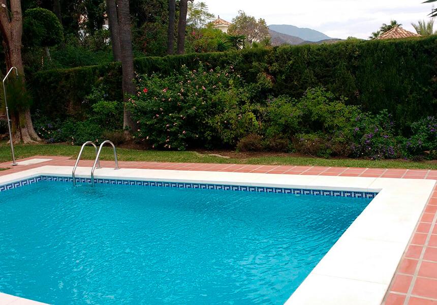 Pool built in marbella