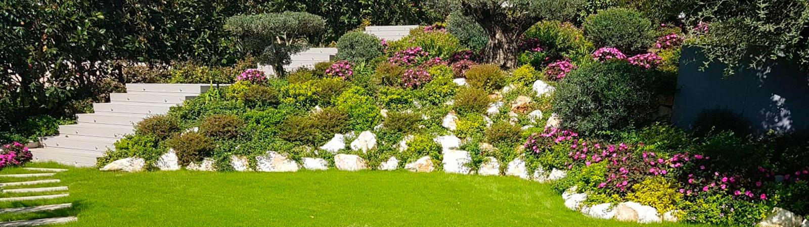 lanscape garden Marbella
